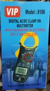 Digital AC DC CLAMP ON MULTIMETER 8106 VIP